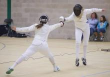 Ladies Epee - Nice Lunge!