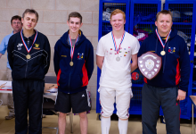 NFC County Epee Medalists 2014